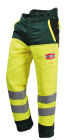 Solidur GLOW High Visibilty EN381-5 Type A Chainsaw Trousers